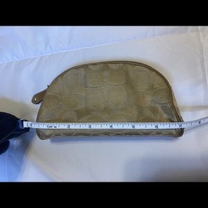 Coach makeup bag
